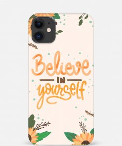 Believe In Yourself iPhone 12 Mini Mobile Cover