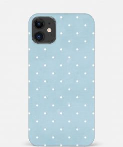 White Dotted iPhone 12 Mini Mobile Cover