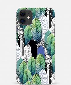 Exotic Leaves iPhone 12 Mini Mobile Cover