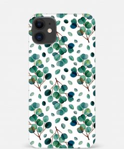 Green Leaves iPhone 12 Mini Mobile Cover