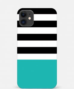 Half Stripes iPhone 12 Mini Mobile Cover