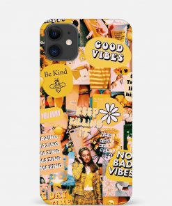 No Bad Vibes iPhone 12 Mini Mobile Cover