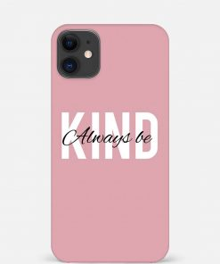 Kind iPhone 12 Mini Mobile Cover