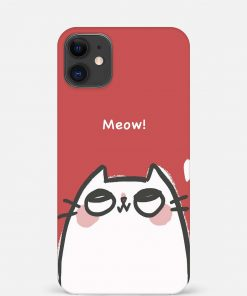 Meow iPhone 12 Mini Mobile Cover