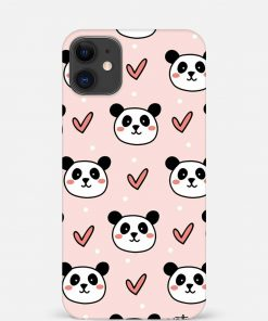 Panda Pattern iPhone 12 Mini Mobile Cover