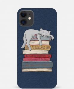 Sleepy Cat iPhone 12 Mini Mobile Cover