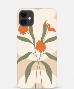 Orange Flower iPhone 12 Mini Mobile Cover
