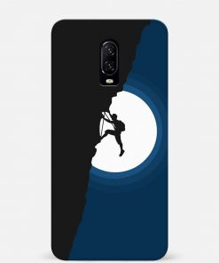 Climbing Oneplus 7 Mobile Cover