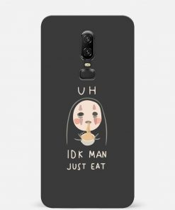 Just Eat Oneplus 6 Mobile Cover