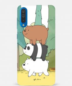 Three Bears Samsung Galaxy A50 Mobile Cover