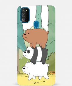 Three Bears Samsung Galaxy M30s Mobile Cover