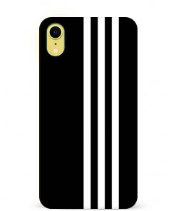 White Stripe iPhone XR Mobile Cover