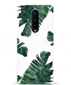 Banana Leaf Oneplus 8 Mobile Cover