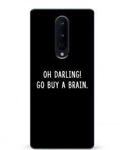 Buy A Brain Oneplus 8 Mobile Cover