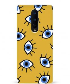 Eyes Oneplus 8 Mobile Cover
