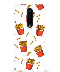 Fries Oneplus 8 Mobile Cover