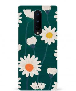 Hand Drawn Daisy Oneplus 8 Mobile Cover