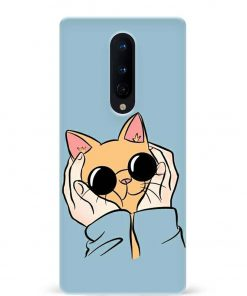 Kitty Oneplus 8 Mobile Cover