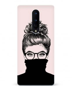 Messy Hair Oneplus 8 Mobile Cover