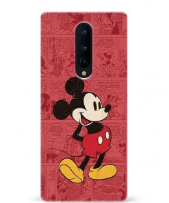 Mickey Mouse Oneplus 8 Mobile Cover