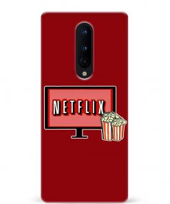 Netflix Oneplus 8 Mobile Cover