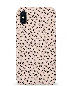 Nude Leopard iPhone Xs Max Mobile Cover