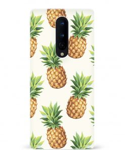 Pineapple Oneplus 8 Mobile Cover