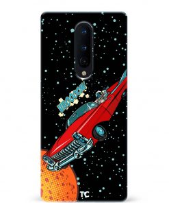 Space Travel Oneplus 8 Mobile Cover