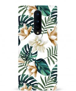 Tropical Flower Oneplus 8 Mobile Cover