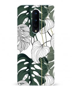 Vintage Leaves Oneplus 8 Mobile Cover