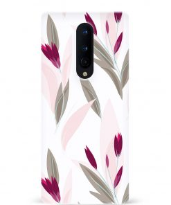 Wild Flower Oneplus 8 Mobile Cover
