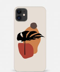 Plant Art iPhone 12 Mini Mobile Cover
