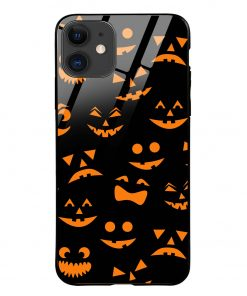 Halloween iPhone 12 Glass Case Cover