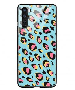 Animal Pattern Oneplus Nord Glass Case Cover