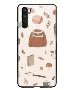 Autumn Essentials Oneplus Nord Glass Case Cover