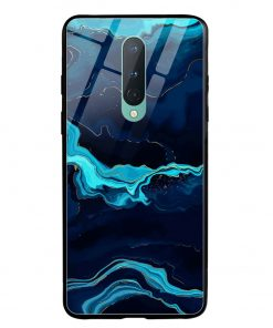 Blue Marble Oneplus 8 Glass Case Cover