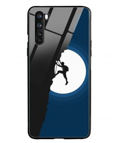 Climbing Oneplus Nord Glass Case Cover