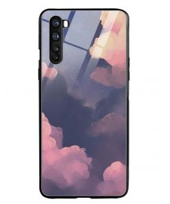 Clouds Oneplus Nord Glass Case Cover
