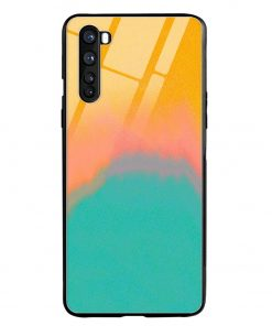 Color Gradient Oneplus Nord Glass Case Cover