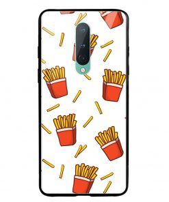 Fries Oneplus 8 Glass Case Cover