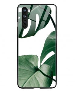 Monstera Oneplus Nord Glass Case Cover