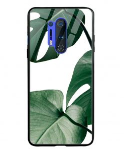 Monstera Oneplus 8 Pro Glass Case Cover