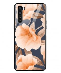 Watercolor Floral Oneplus Nord Glass Case Cover