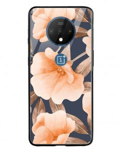 Watercolor Floral Oneplus 7T Glass Case Cover