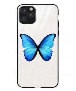 Butterfly iPhone 11 Pro Max Glass Case Cover