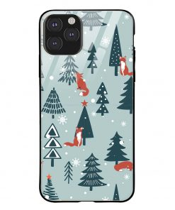 Christmas Tree iPhone 11 Pro Max Glass Case Cover