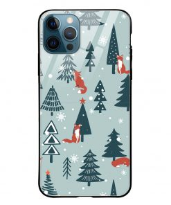 Christmas Tree iPhone 12 Pro Max Glass Case Cover