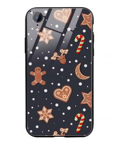 Cookies iPhone XR Glass Case Cover