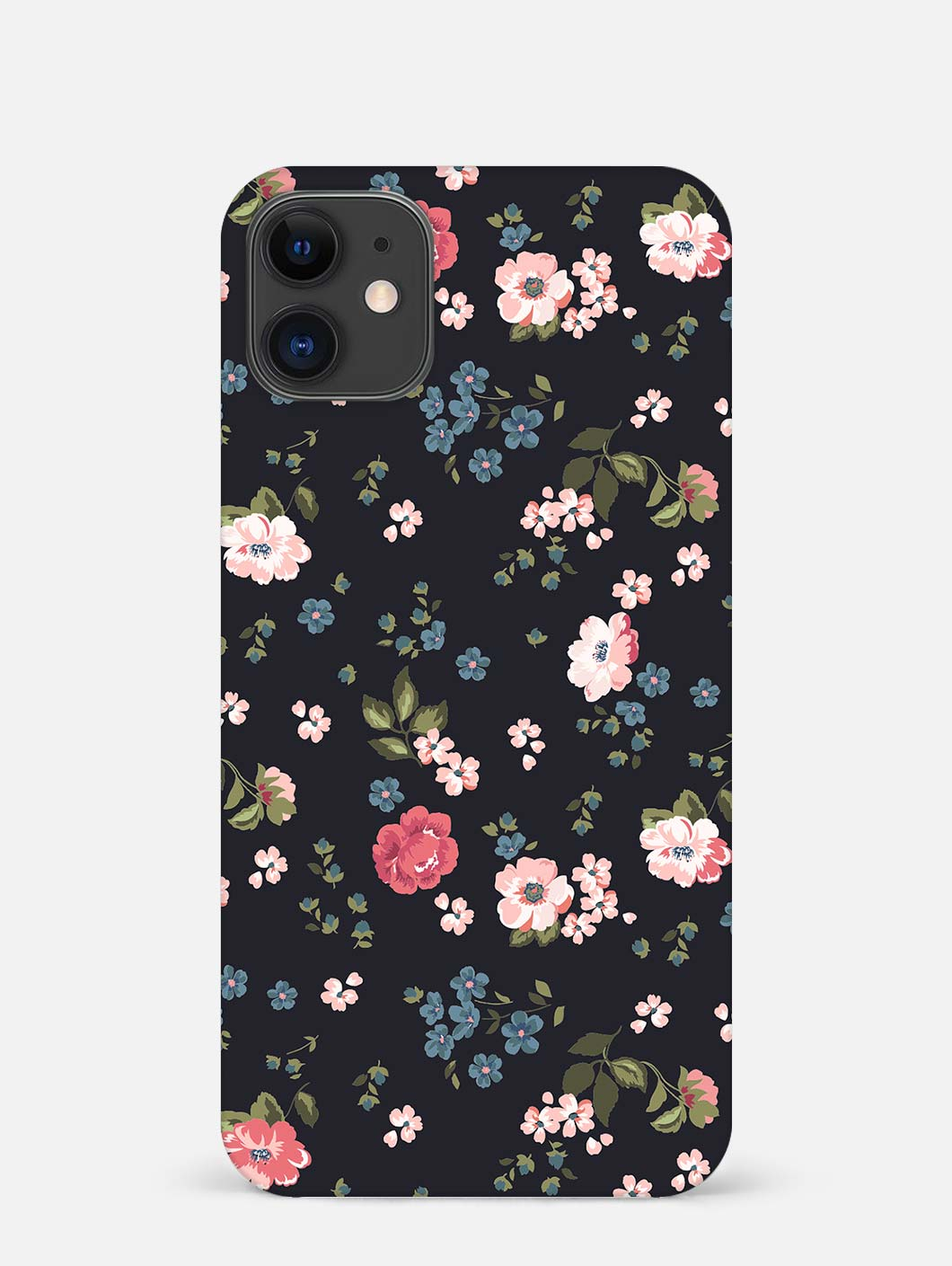 Floral Print iPhone 12 Mini Mobile Cover