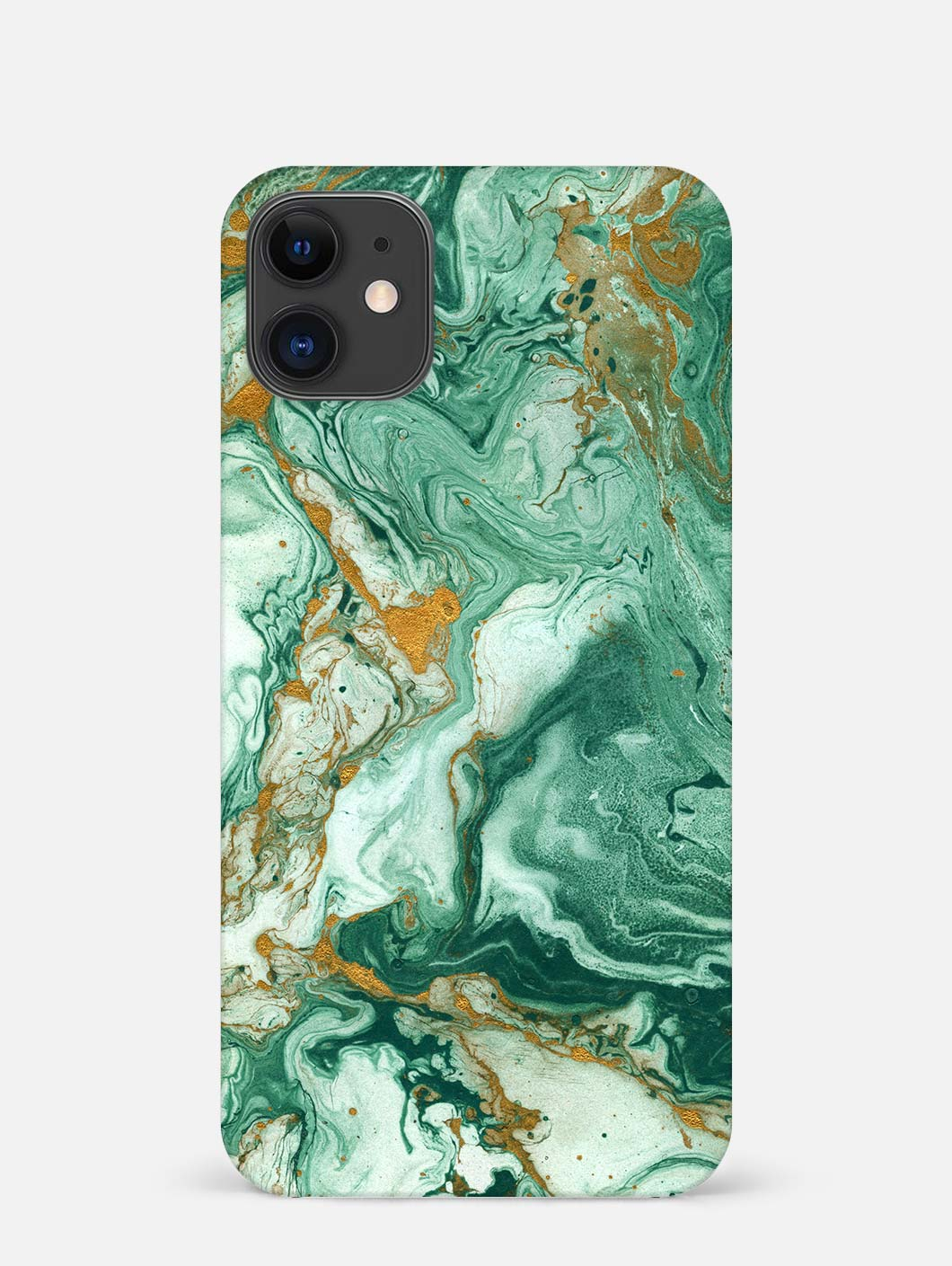 Green Paint iPhone 12 Mini Mobile Cover